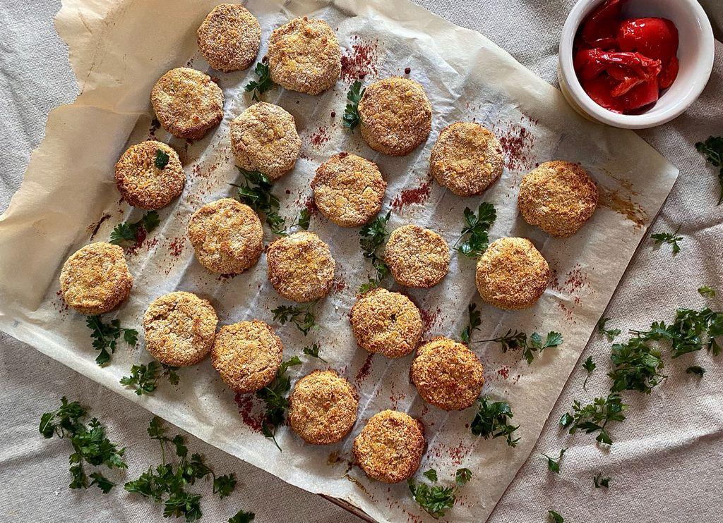 crunchy falafel