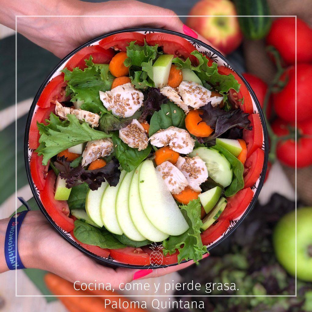 ensalada completa y saludable