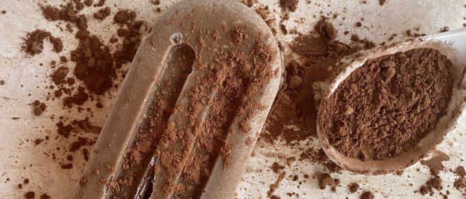 chocoguate helado Nutrición con Q